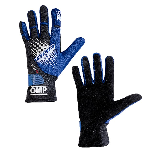 KK02744E277  KS-4 Gloves (Purple/black/cyan)