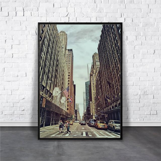 アートポスター New York cityデザイン