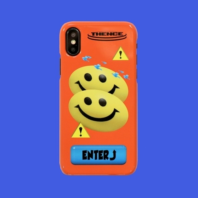 [AT-57]「SMILE」iPhone X/Xs ハードケース