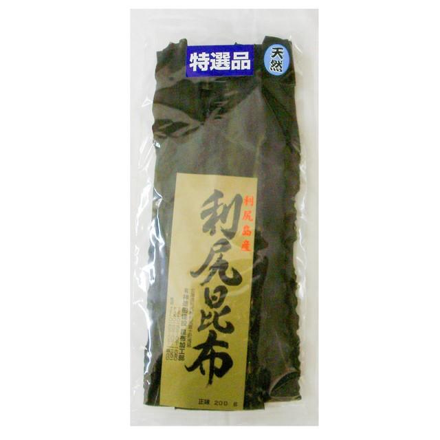 北海道利尻産 天然花折昆布 2等品