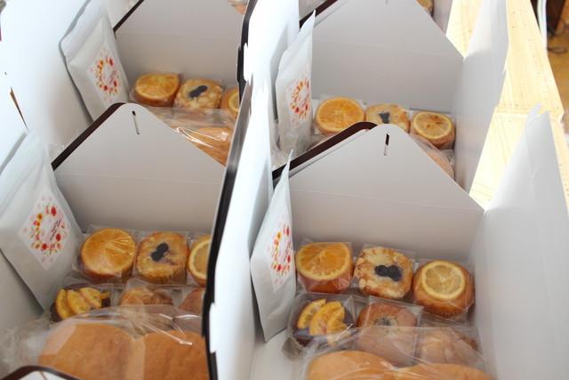 パンとマフィンギフト用ボックス