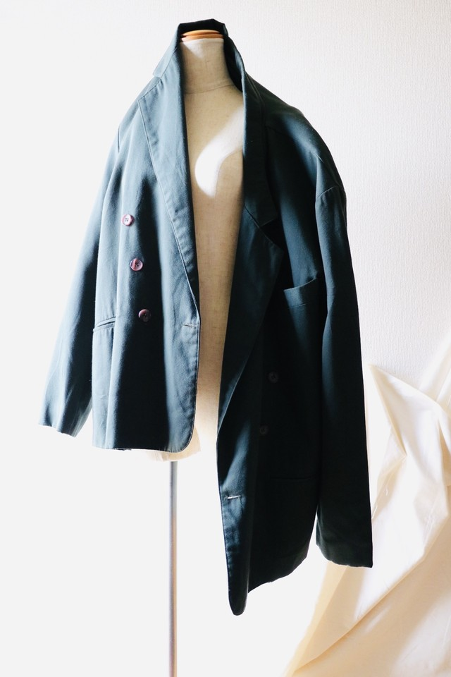 Vintage oversized double tailored jacket