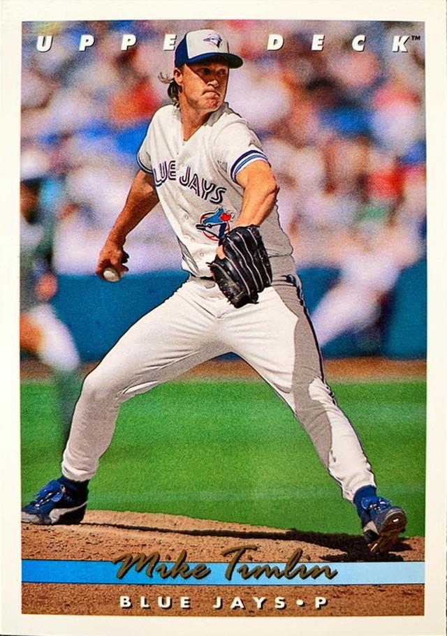 MLBカード 93UPPERDECK Mike Timlin #322 BLUEJAYS