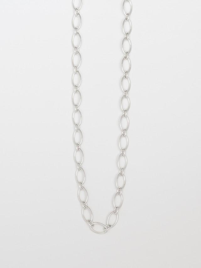 Oval Chain Link Necklace / Bjarne Nordmark Henriksen