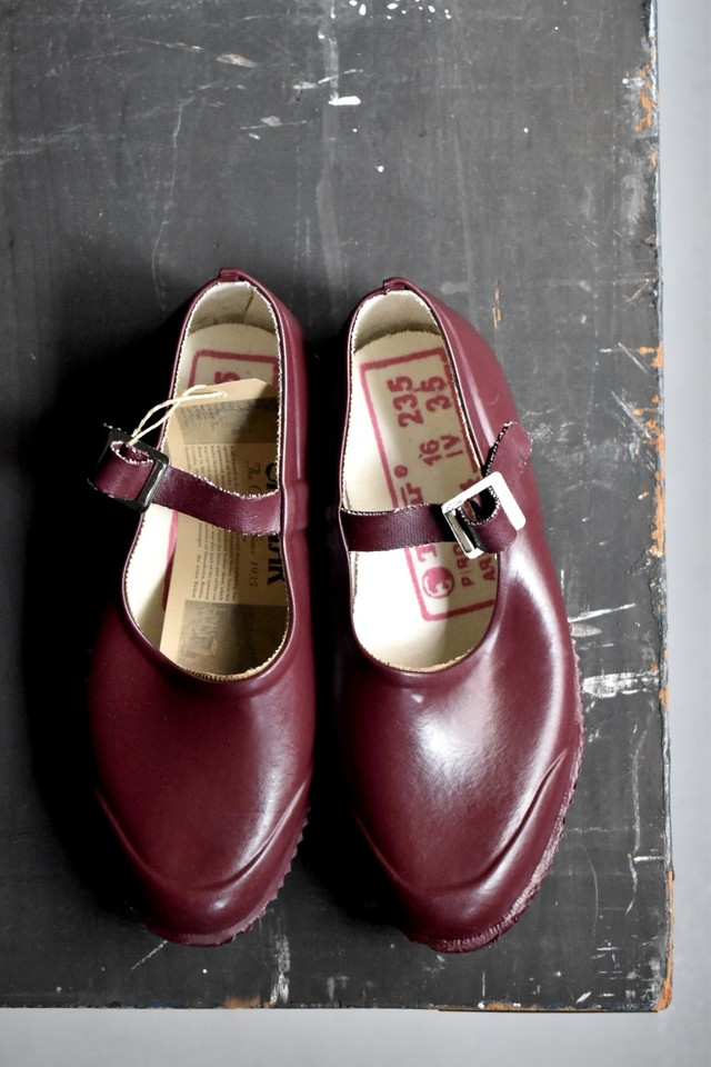 """""""NEW"""" OPANAK rubber shoes """"strap"""" 【BURGUNDY】"""