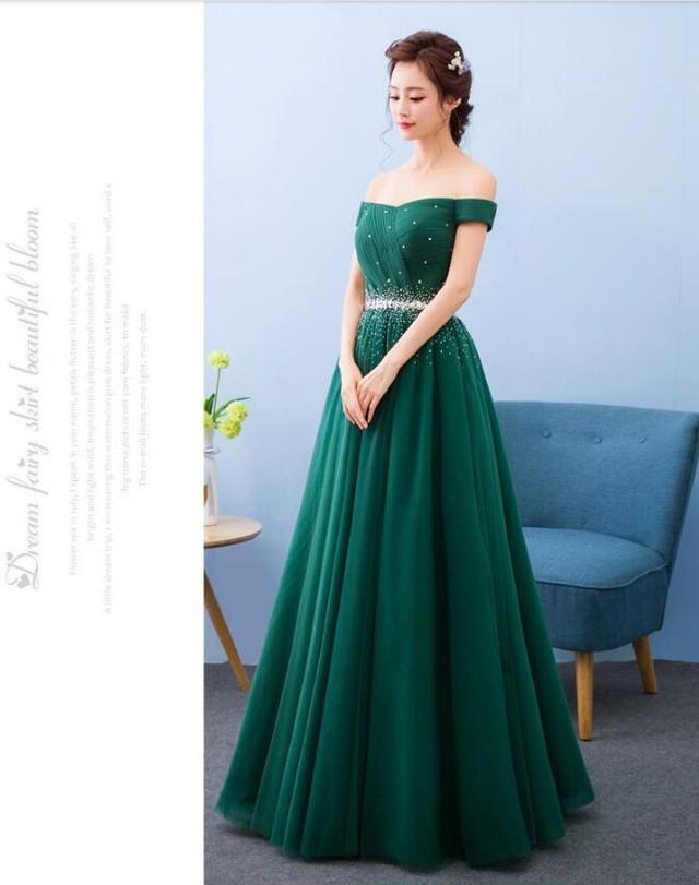 結婚式 お色直し ドレス 緑 Khabarplanet Com