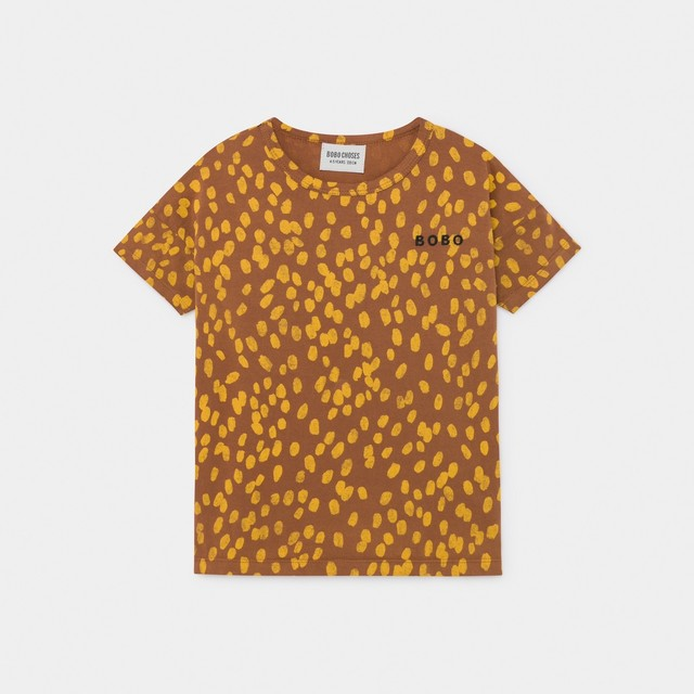 《BOBO CHOSES 2020SS》Animal Print T-Shirt / 2-9Y