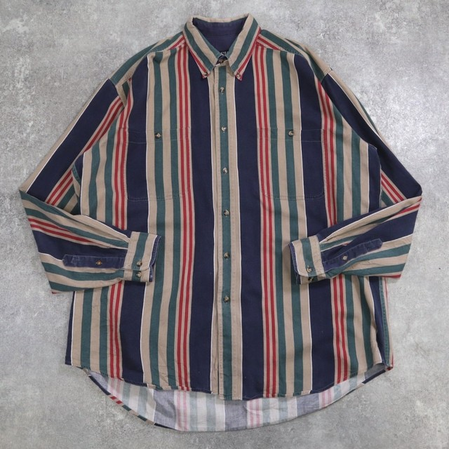 old mulch stripe shirt