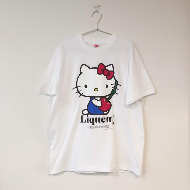 Hello kitty hugs Cherry / Tシャツ・L