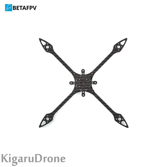 BetaFPV X-Knight5用 Carbon Fiber Frame V2 SET カーボンフレームセット