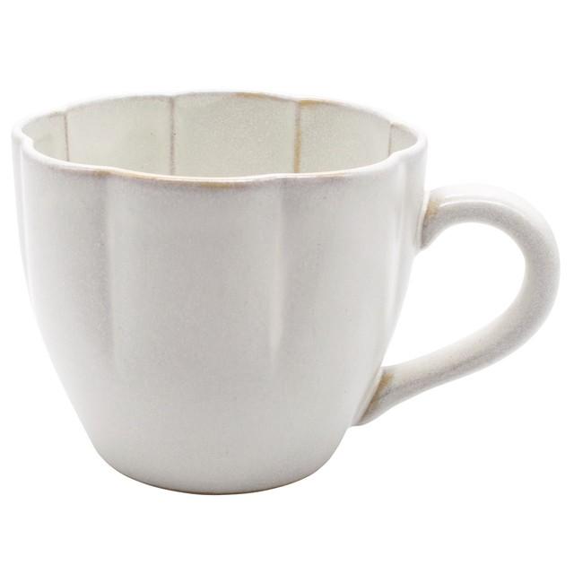 aito製作所 「花 hana」マグカップ 360ml ぎんはく 瀬戸焼 288181