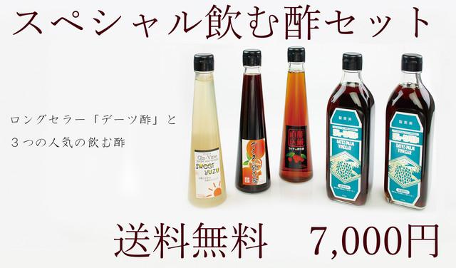 スペシャル飲む酢セット