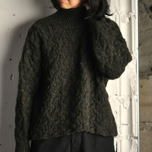McConnell Polo-neck sweater green