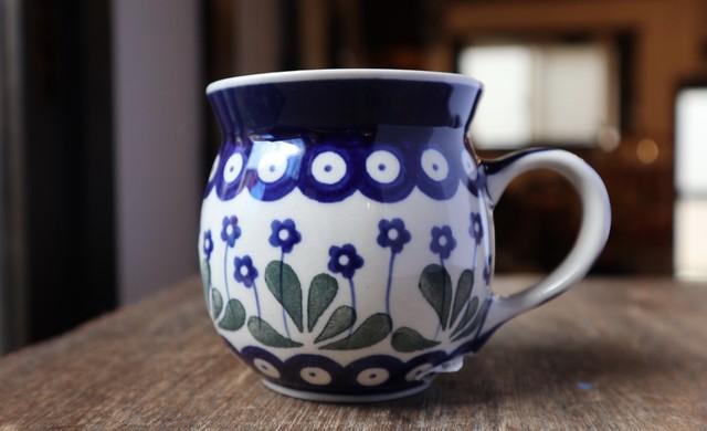 ツェラミカ マグカップ /ポーランド食器 #01