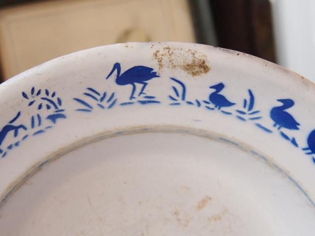 琺瑯ステンシル皿