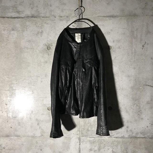 [BALMAIN] sheep leather elegant jacket