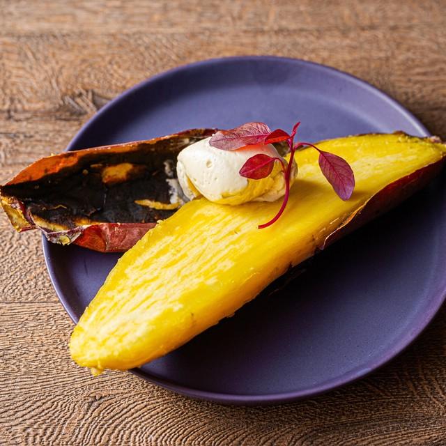 【ランチ/ディナー】薪火焼き芋 川越はちみつホイップバター風味