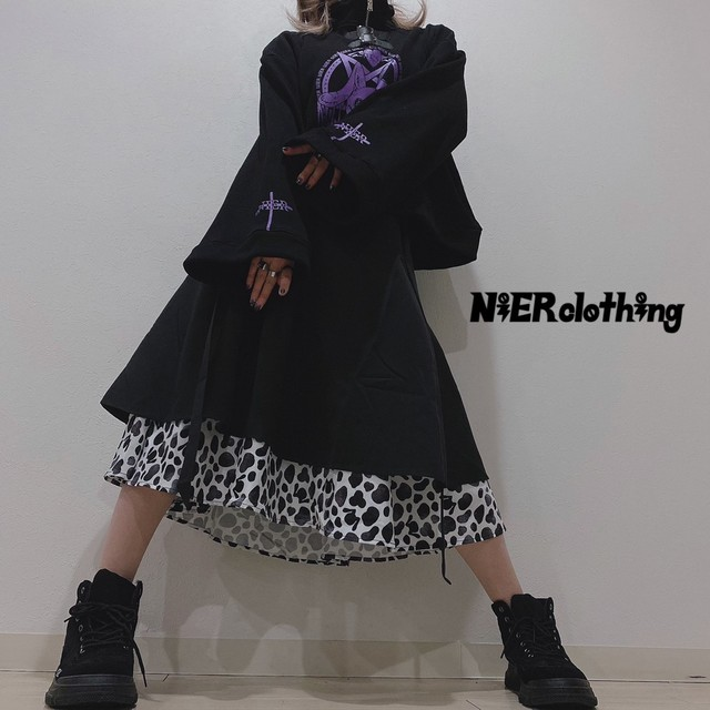 NieR ORIGINAL FLARE SKIRT