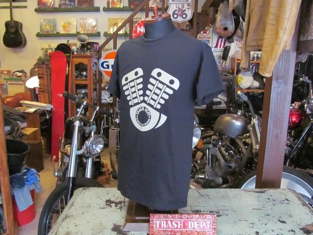 TRASH DEPT オリジナル 7分袖ラグランTシャツ [No.1]