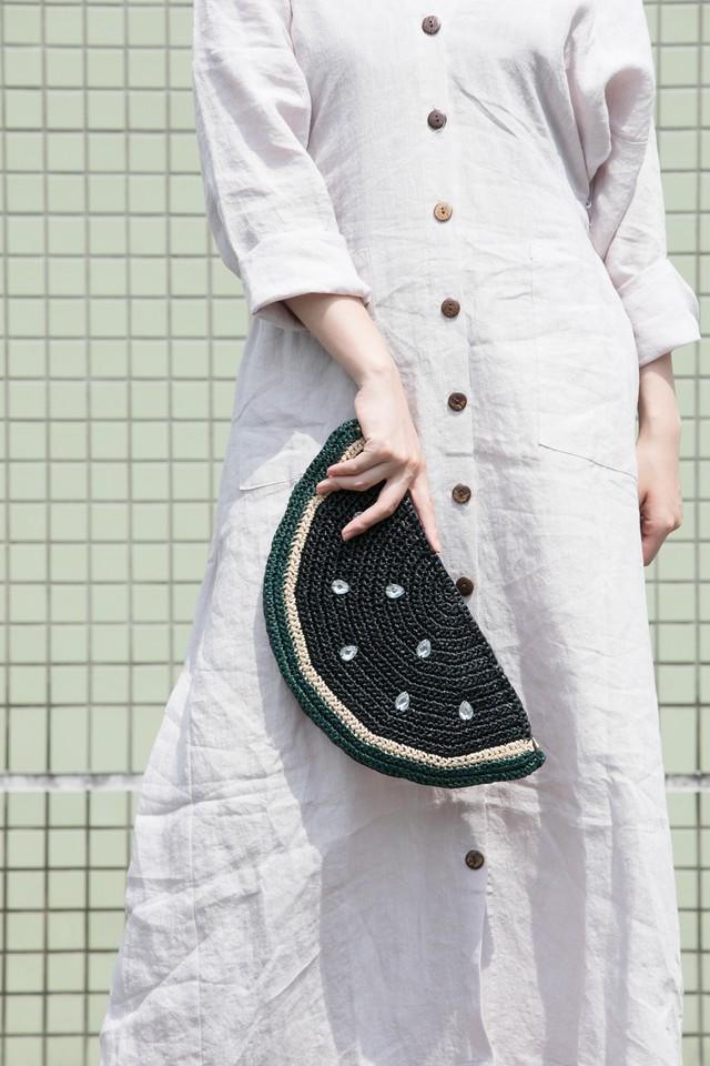 【MIKACHU WORLD】clutch bag (watermelon4)