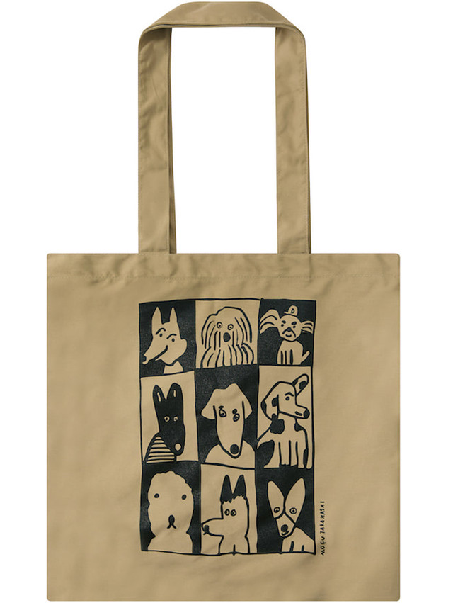 【Mogu Takahashi】SHOULDER BAG dog tiles