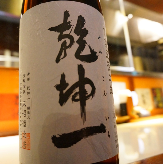 乾坤一 特別純米辛口 1.8ℓ