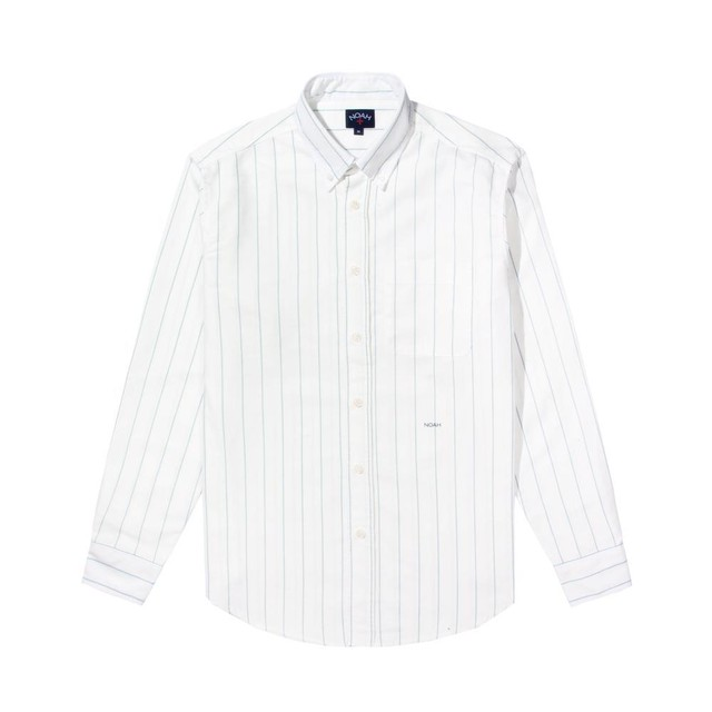 Oxford Pinstripe Shirt(White)