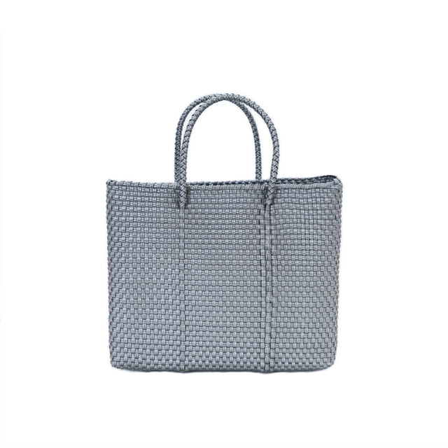 MERCADO BAG MOSAIC CHECK - SL(XS)