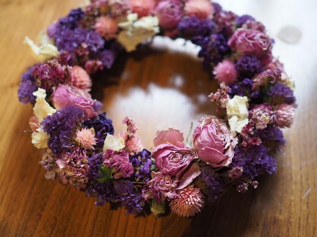 【2021母の日】ラウンドリース Purple