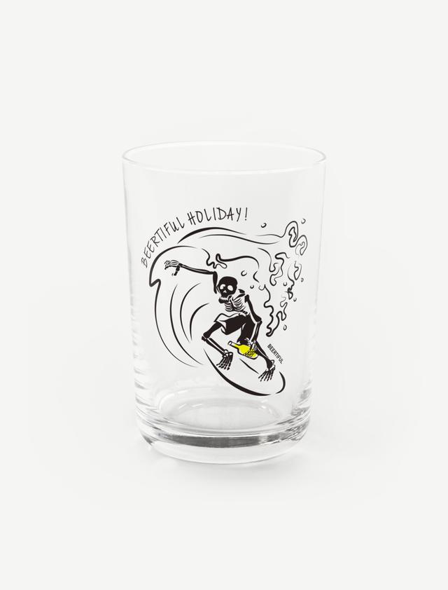 【サーフィンガイコツ】グラス