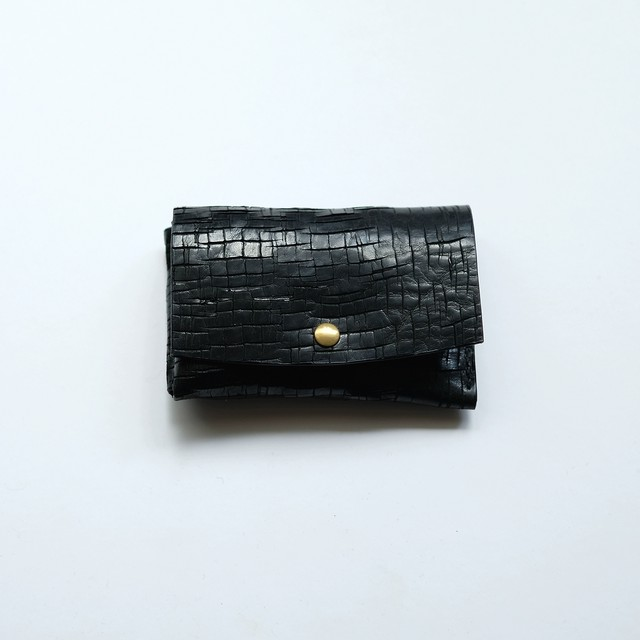 mini wallet - bk - crack