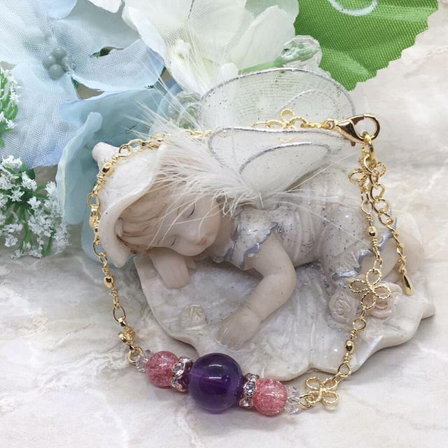 ♡癒しと安らぎ♡おしゃれ 天然石 ブレスレット/チェーン♡