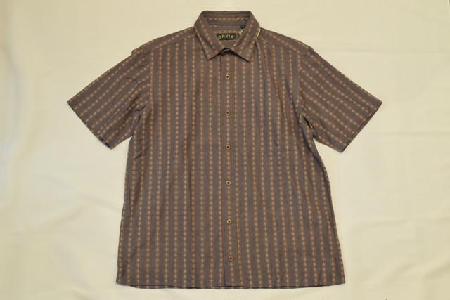 DEADSTOCK 00s ORVIS S/S shirt -Medium 01042