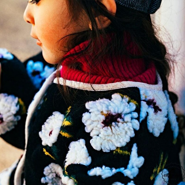 «sold out» flower jacket フラワージャケット
