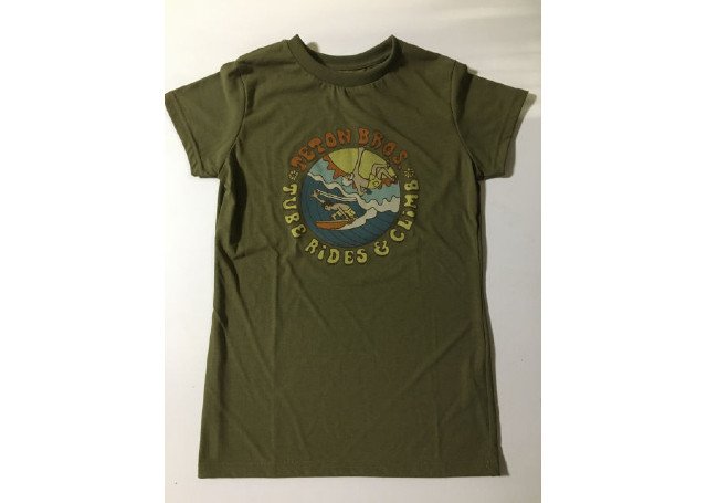【Teton Bros】 Ws Surf and Climb Tee(Green)