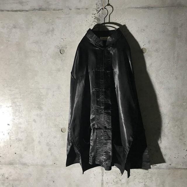 [used] black poly shirt