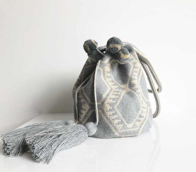 ワユーバッグ(Wayuu bag) Basic line Tote Mサイズ