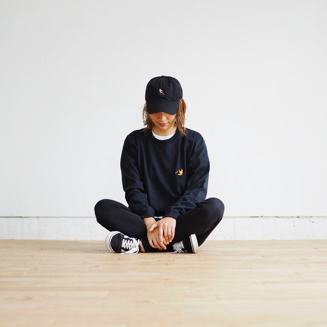 GO OUT掲載 SK8 YETI L/S Tシャツ