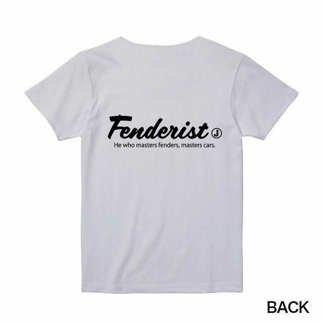 Common T-shirt[White]Fenderist