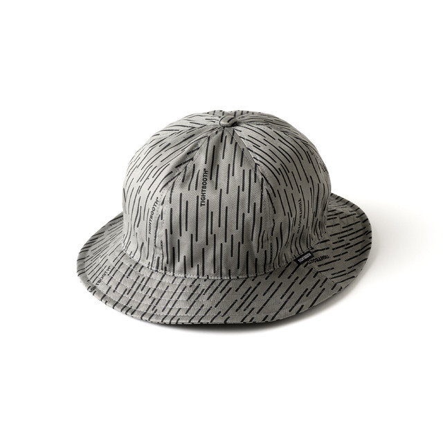 TIGHTBOOTH RAIN CAMO HAT  GREY