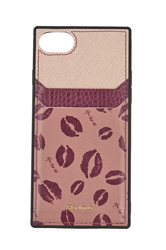 Her lip to iPhone Case
