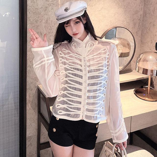 【アウター】好評発売中品質ファッションシングルブレストスタンドネックコート41536843
