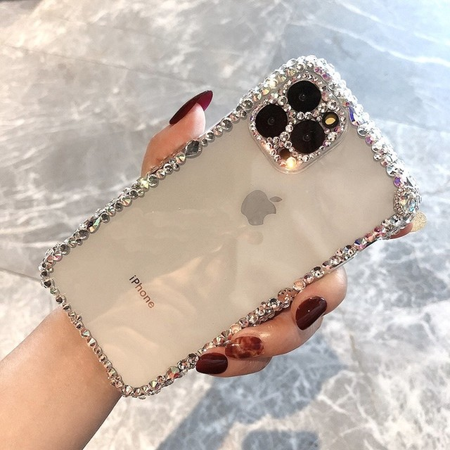 luxury rhinestone iphone case