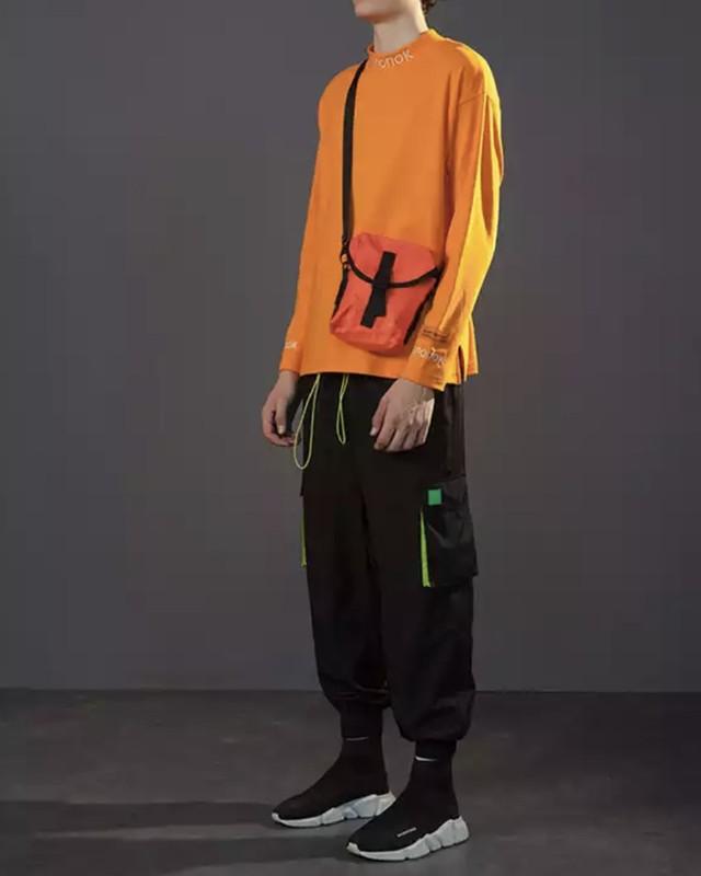 【STREET】cnonokデザインロングTシャツ 2カラー