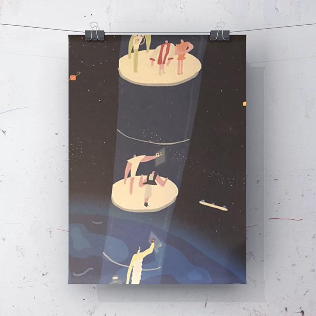 【訳あり割引商品】宇宙エレベーター