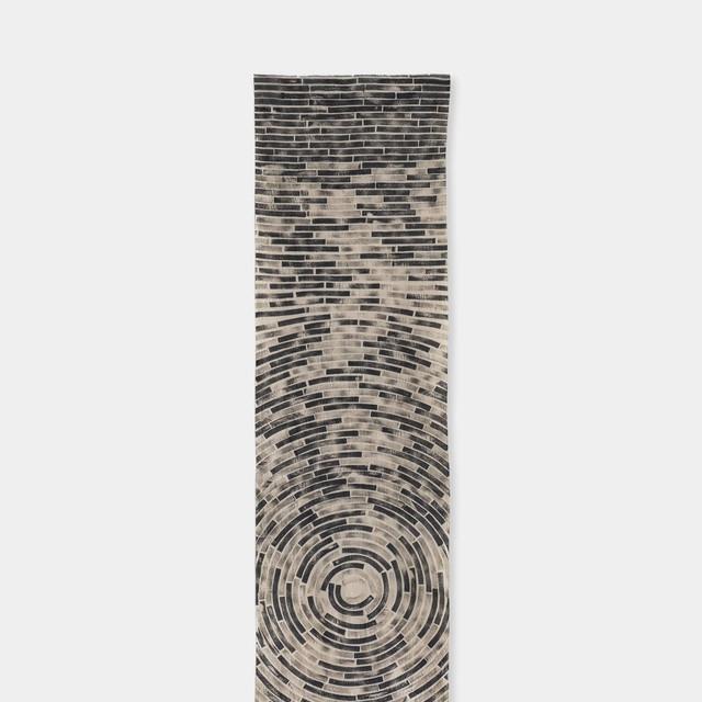 Shiori Mukai Textile 019 向井詩織 ブロックプリント 約36×190cm