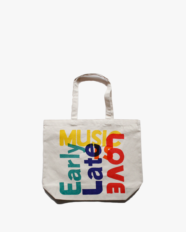 [再入荷]Anoraks  MUSIC IS LOVE  TOTE