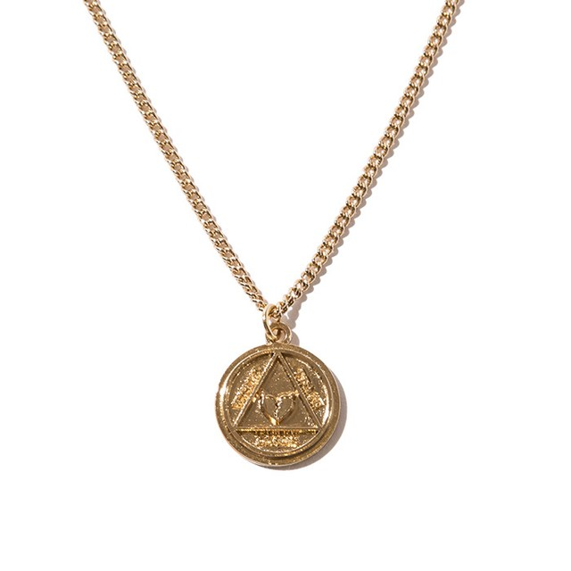 【Deviluse | デビルユース】 Coin Neckless(Gold)