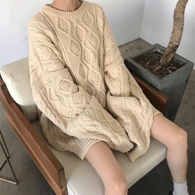 【tops】ゆったり雰囲気スタイリッシュセーター