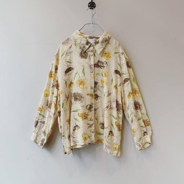 vintage design silk blouse